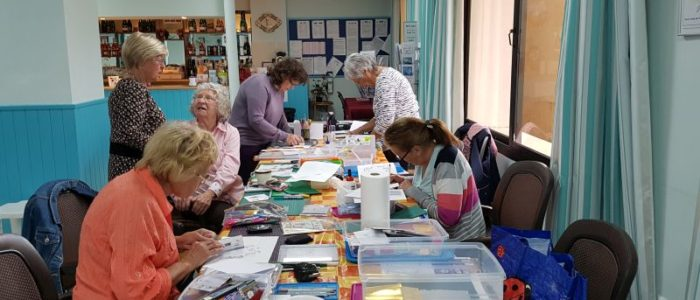 A card making workshop