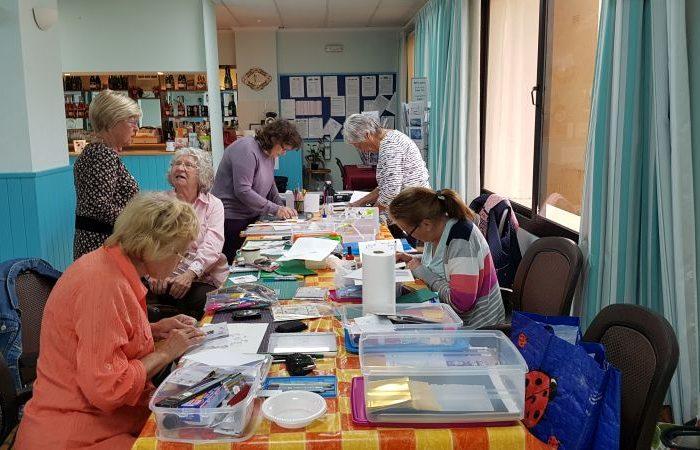 A card making workshop